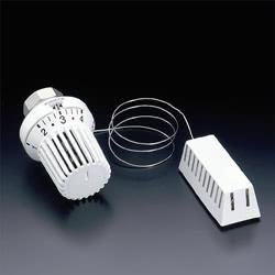 Термостатическая головка Oventrop Uni XH, артикул 1011566, белая, 7-28 С, с нулевой отметкой, с дистанционным датчиком, капиллярная трубка 5 м