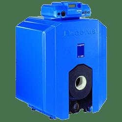 Напольные чугунные котлы Buderus Logano G125 WS, работающие на газе или дизельном топливе