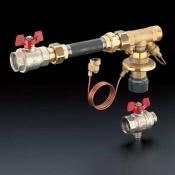 Присоединительный набор Oventrop для теплочсётчика с регулятором перепада давления Hycocon DTZ арт. 1404681