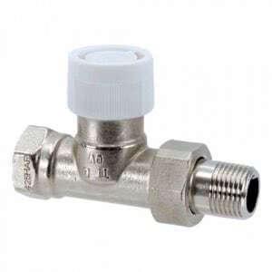 """Вентиль (термостатический клапан) Oventrop AV6 прямой Ду20 3/4"""", артикул 1183866"""