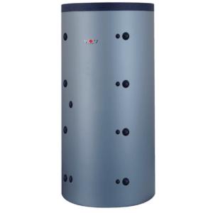 Бак-аккумулятор Wolf SPU-2-W 1500 с нагревательным змеевиком (серебристый металлик), 2483052