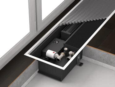 Отопительные каналы с принудительной конвекцией с тангенциальными вентиляторами Varmann Qtherm