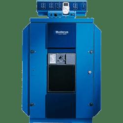 Напольные чугунные отопительные котлы Buderus Logano GE515, работающие на газе или дизельном топливе