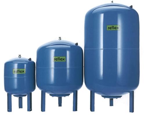 Расширительные баки для водоснабжения (гидроаккумуляторы)
