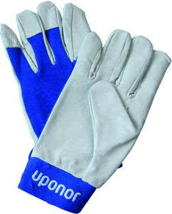 Uponor Self Attaching перчатки для монтажа, синие, артикул 1048675