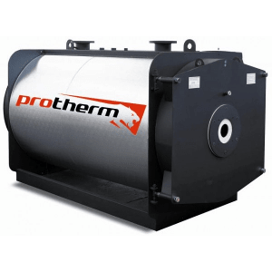Индустриальные стальные котлы с вентиляторными горелками Protherm серии Бизон NO 1400