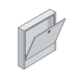 Uponor коллекторный шкаф накладной L=705 мм T=160 мм, 1046997