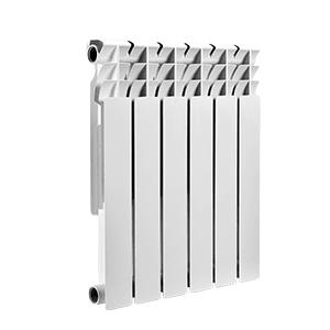 Биметаллический радиатор SMART biEasy One 500, 4 секции, 500004