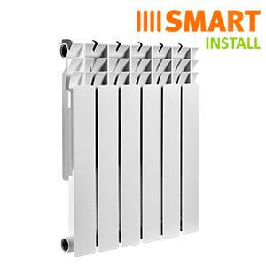 Биметаллические радиаторы Smart Install