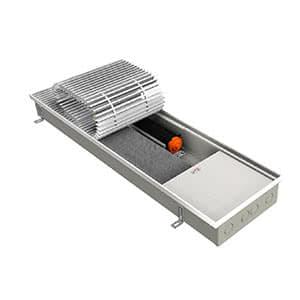 Внутрипольный конвектор EVA KB80-1000 с вентилятором, теплоотдача 1182 - 1654 Вт