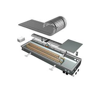 Внутрипольный конвектор ISAN Opflex FLT 21-12 100 N
