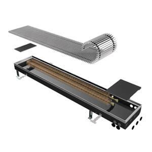 Внутрипольный конвектор ISAN Opflex FLK 10-14 80 N
