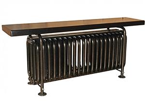 Стальной трубчатый радиатор-скамейка Завалинка РС 4-500-27