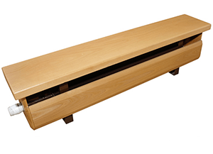 Стальной трубчатый радиатор-скамейка Завалинка Элегант 1300