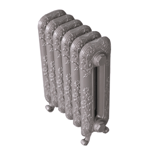 Чугунный радиатор EXEMET Magica 600/400/66 (1 секция), межцентровое расстояние 400 мм