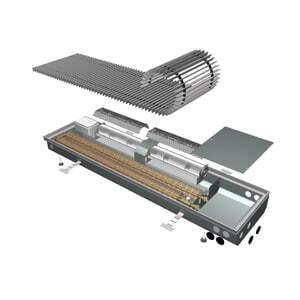 Внутрипольный конвектор ISAN Opflex FLT 10-09 80 N
