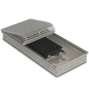Внутрипольный конвектор PrimoClima PCM90-2750 без вентилятора, решетка из алюминия анодированного в натуральный цвет