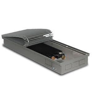 Внутрипольный конвектор PrimoClima PCN90-2000 без вентилятора, решетка из алюминия анодированного в натуральный цвет
