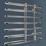 Комбинированный полотенцесушитель Vandens W - LINE Waltz 1000-10, 15943