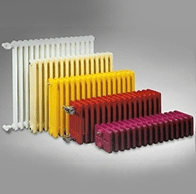Стальной трубчатый радиатор Dia Norm Delta 3097 3-колонный, глубина 101 мм (цена за 1 секцию).