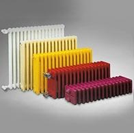 Стальной трубчатый радиатор Dia Norm Delta 3107 3-колонный, глубина 101 мм (цена за 1 секцию).