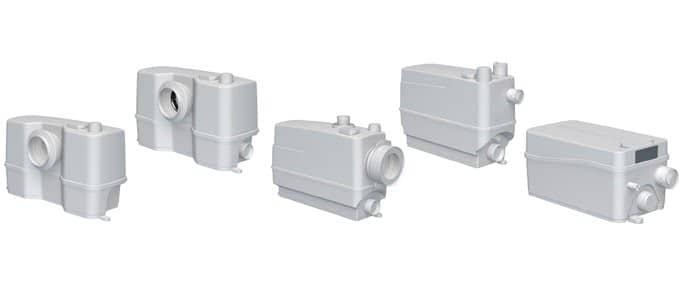 Канализационные установки Grundfos серия Sololift