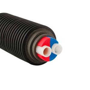 Труба Uponor ECOFLEX THERMO TWIN 2X25X2,3/175 PN6, Бухта 200м
