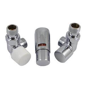 Комплект термостатический SCHLOSSER Elegant Mini GZ 1/2 х М22х1,5 хром (осевой, на зажим), арт. 603400017