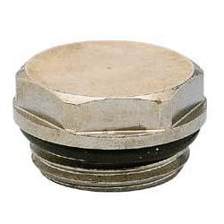 "Заглушка Carlo Poletti 1/2"", Brush Bronze, арт. A55103M"