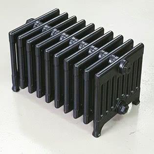 Чугунный ретро-радиатор Exemet Neo 330/220 1 секция, размер секции с ножками (ВхГхШ) 330х330х60 мм