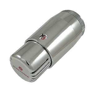 Термостатическая головка SCHLOSSER  MINI Diamant M30x1,5 Хром, арт. 601100053