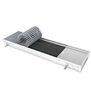 Конвектор EVA  KC.80.403.2500 без вентилятора: глубина 80 мм, ширина 403 мм, длина 2500 мм