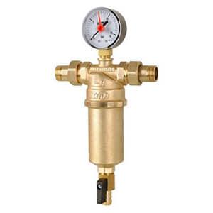 Самопромывной фильтр для воды ICMA, муфтовый с наружной резьбой 3/4, 751/83751AE05