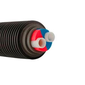 Труба Uponor ECOFLEX THERMO TWIN 2X50X6,9/200 PN10, Бухта 100м