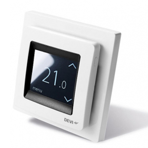 Терморегулятор DEVIreg™ Touch с комбинацией датчиков, белый, 16А