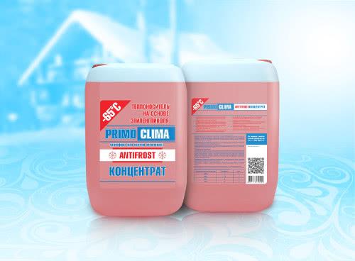 Теплоноситель PRIMOCLIMA на основе этиленгликоля  - 65 С