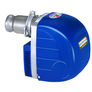 Дизельная одноступенчатая вентиляторная горелка Buderus Logatop DE 1.3H0055 (100 кВт) (жидкотопливная), Арт. 7747208634