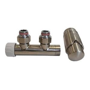 Комплект SCHLOSSER DUO-PLEX 3/4 х M22х1,5 сталь (угловой, правый), арт. 602100013