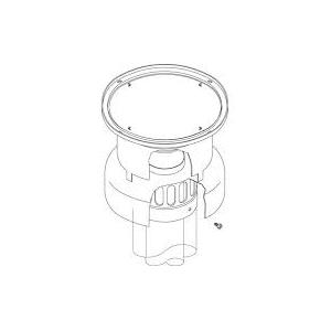 Groppalli оголовок дымохода вертикальный коаксиальный, Ø 60/100мм, арт: A03.021.000013