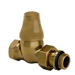 Запорный клапан SR Rubinetterie прямой  Old Style 1/2, цвет бронза