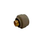 Резьбовое соединение Schlosser для пластиковых труб GW 22x1.5 x 16x2, Ral 9017