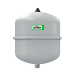 Мембранный бак Reflex N 12 для отопления вертикальный (цвет серый)