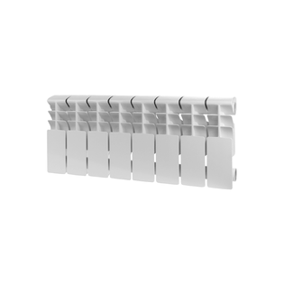 Алюминиевый радиатор Rommer Plus 200, 1 секция