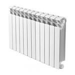 Радиатор биметаллический Rifar B500/12, межосевое расстояние 500 мм, 12 секций