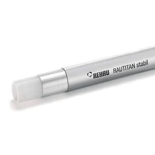 Труба универсальная REHAU Rautitan stabil 20х2,9мм, прямые отрезки 5м