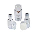 Комплект термостатический Schlosser Lux Хром Форма осевая, правый GZ 1/2 x GW 1/2