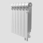 Секционный биметаллический радиатор Royal Thermo Indigo Super 500 V, количество секций 1