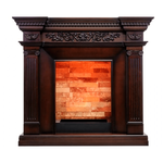 Деревянный портал Dimplex Amalfi 1049х1150х390 - махагон коричневый антик
