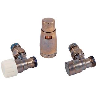 Комплект Schlosser GZ1/2 x M22x1,5 Technoline угловой с головкой Мини M30x1,5