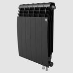 Секционный биметаллический радиатор Royal Thermo BiLiner 500 V, Noir Sable, количество секций 1